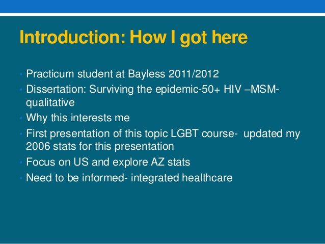Dissertation topics on hiv aids