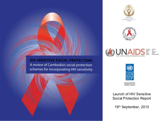 Launch of HIV Sensitive Social Protection Report 19th September, 2013