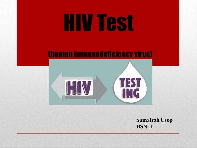 Hiv test (final)