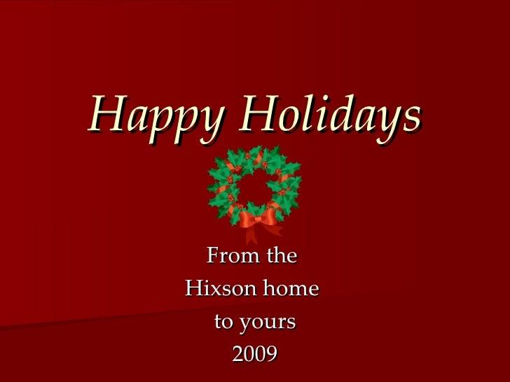 Hixson Christmas