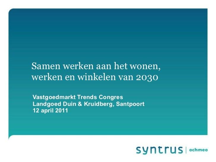 Presentatie Henk Jagersma bij Vastgoedtrends