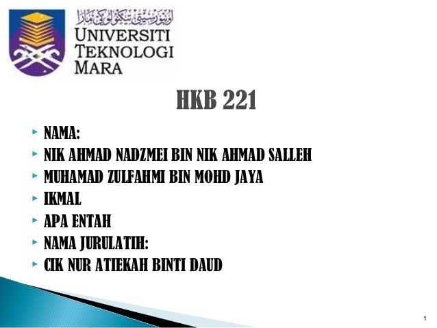 Hkb 221 presentation