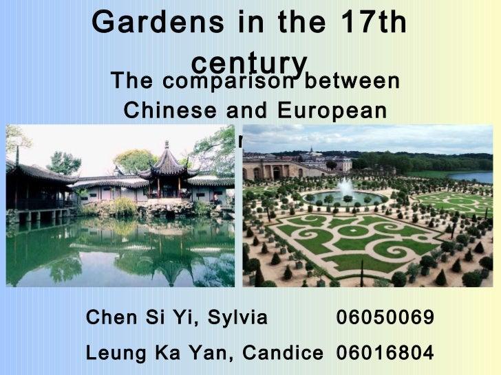 hkbu POLS 3620 Gardens In The 17th Century 06016804 Leung Ka Yan 06050069 Chen Siyi