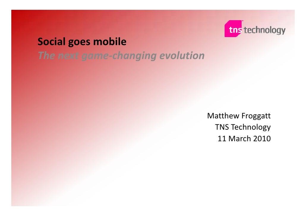 HKD2 - TNS  - Social goes mobile