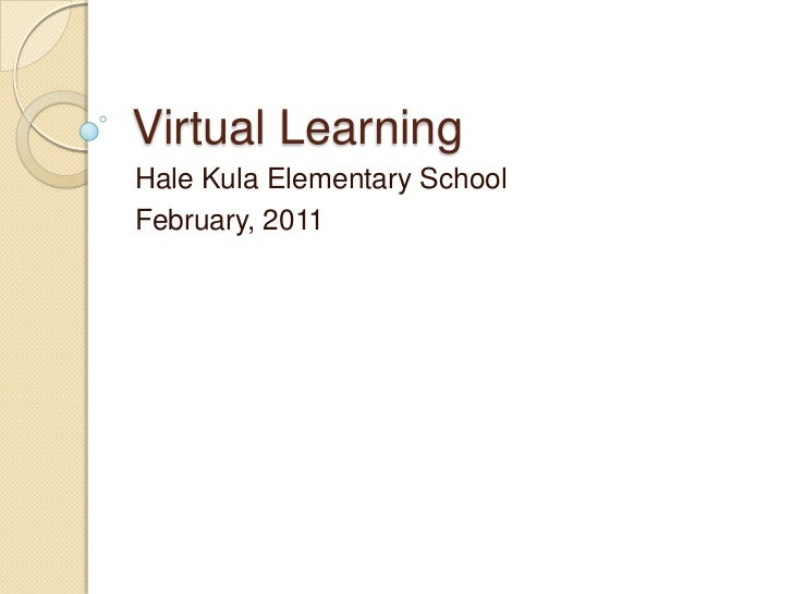 Hale Kula Elementary School Virtual Learning