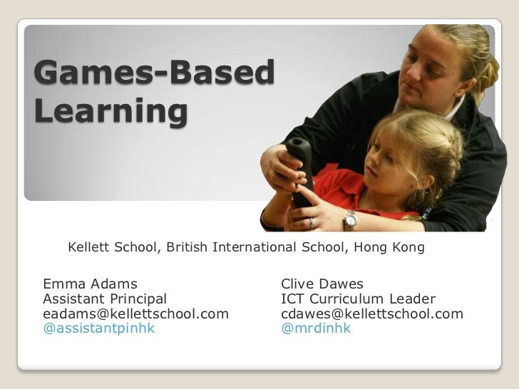 Hong Kong Teaching & Learning Expo - Games Based Learning