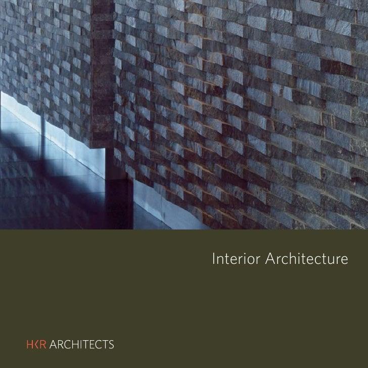 Hkr Interior Architecture Portfolio