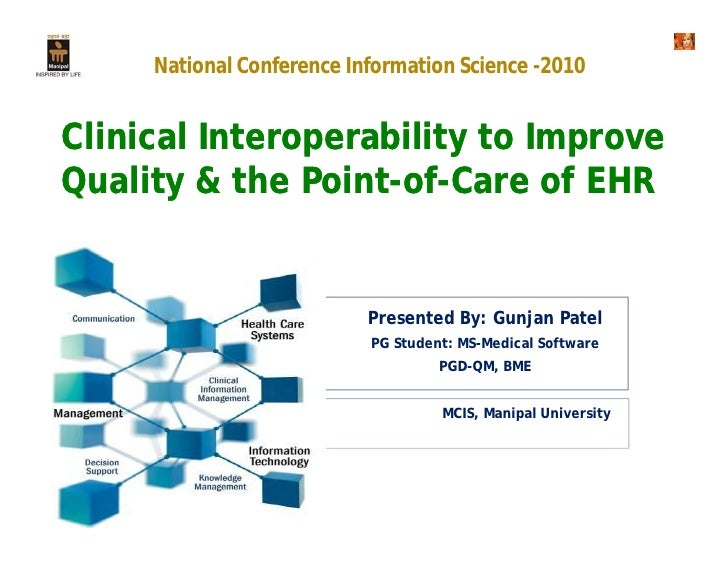 interoperability ehr system If interoperability is the future of healthcare, what's the due to a lack of shared infrastructure among hospital it and ehr systems demands for standards-based interoperability systems from purchases can make a difference in vendors supplying truly interoperable systems, says ms.