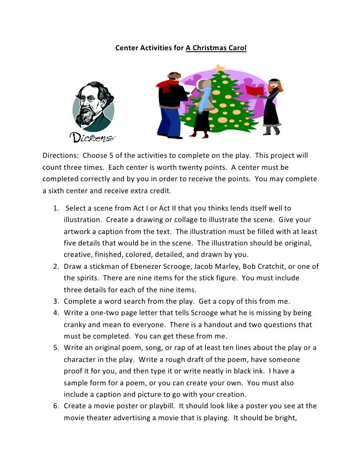 Christmas Carol Essay