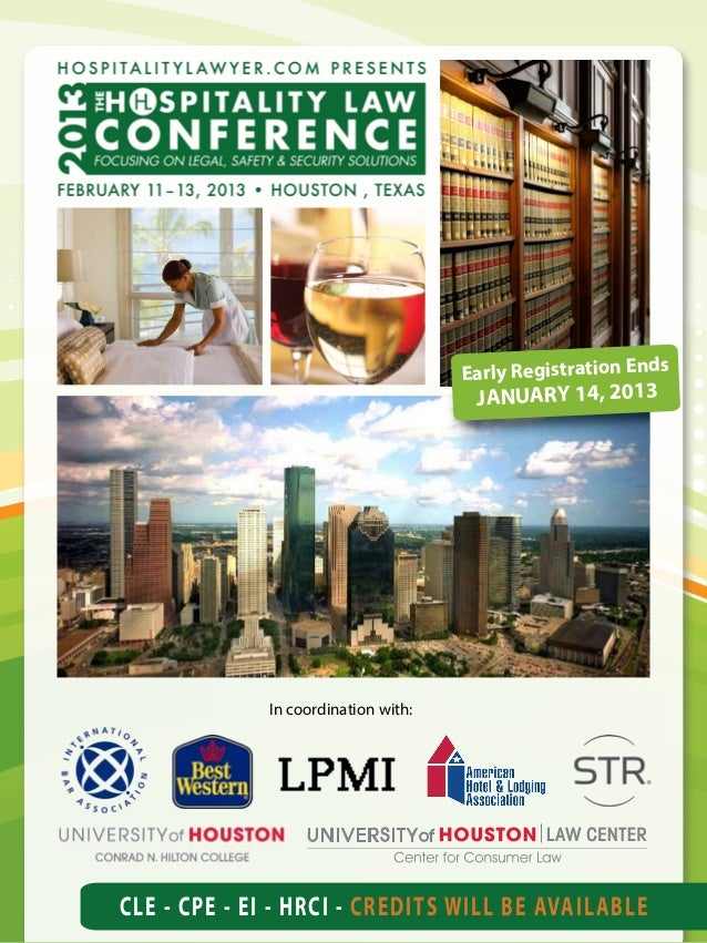 Early Registration Ends                                      JANUARY 14, 2013             In coordination with:CLE - CPE -...
