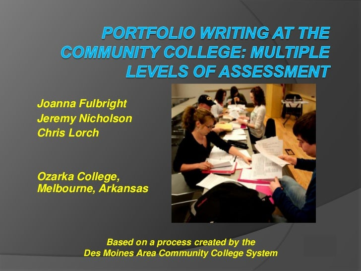 Joanna FulbrightJeremy NicholsonChris LorchOzarka College,Melbourne, Arkansas           Based on a process created by the ...