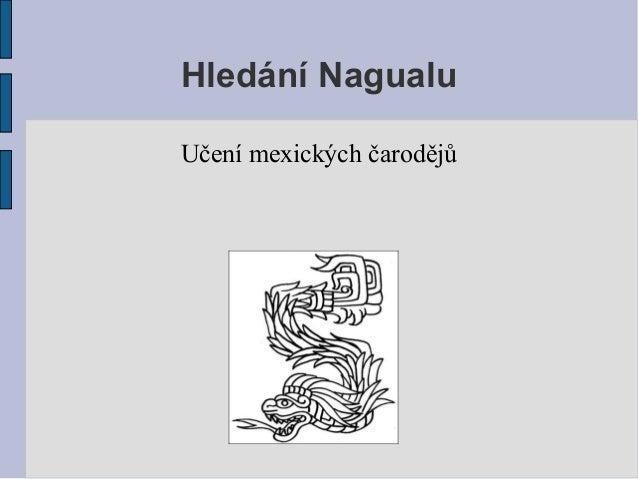Hledání Nagualu Učení mexických čarodějů