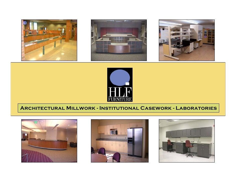 Architectural Millwork Profile
