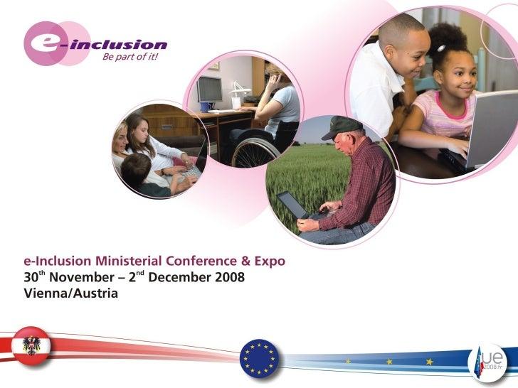 Hlg Présentation Conférence e Inclusion Vienne 2008