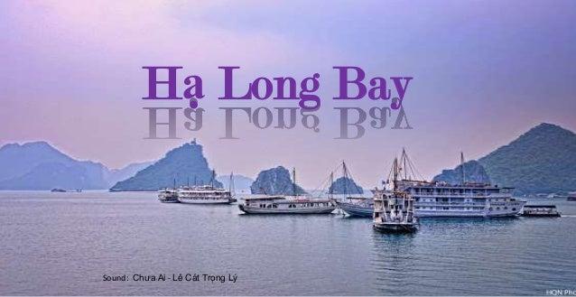 Hạ Long Bay  Vietnam