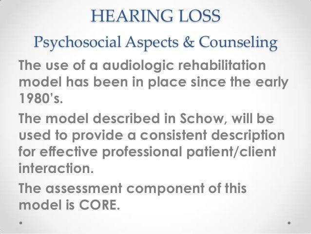 Hl psychosocial aspects &  counseling