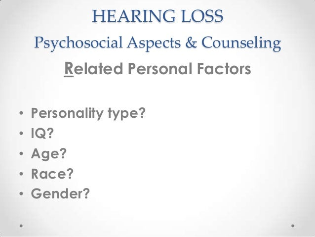 the psychological aspects of counseling Counseling psychologists complete graduate, doctoral-level training in programs that require four to six years of graduate study these doctoral programs of study involve coursework and.