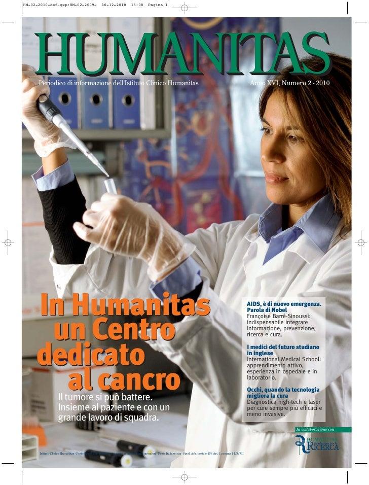 Periodico di informazione dell'Istituto Clinico Humanitas                                                                 ...