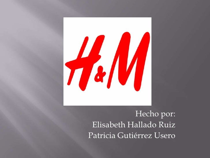 Hecho por: Elisabeth Hallado RuizPatricia Gutiérrez Usero