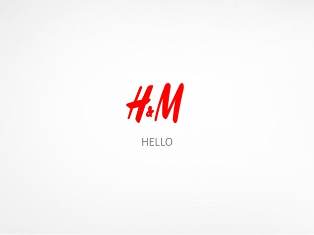 H&m assignment