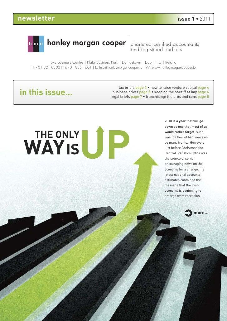 HMC quarter 1 newsletter 2011
