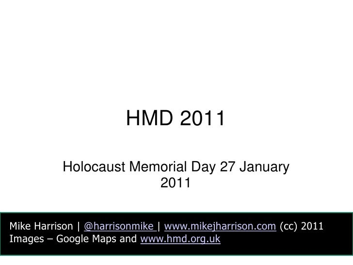 HMD 2011<br />Holocaust Memorial Day 27 January 2011<br />Mike Harrison | @harrisonmike| www.mikejharrison.com (cc) 2011<b...