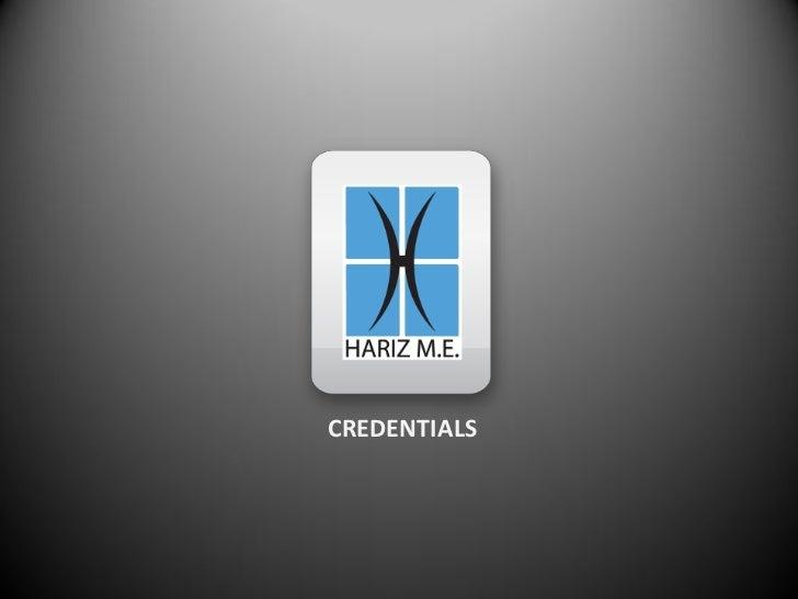 Hme Credentials March 2012