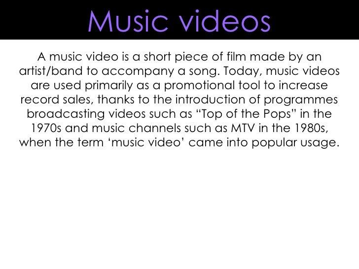 Video research presentation