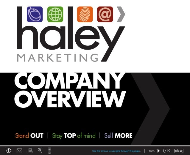 Haley Marketing Overview