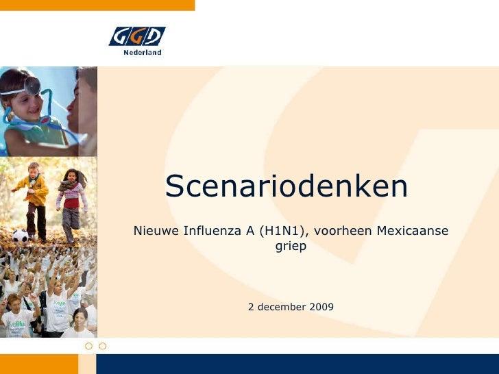 Scenariodenken, Martine Boer GGD Nederland
