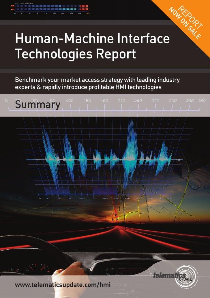 HMI Technologies report