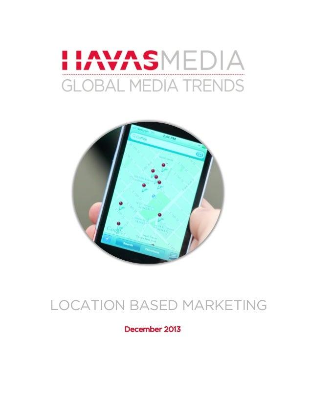 Havas Media Global Trends: Location-based marketing