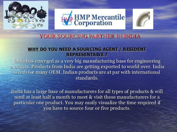 HMP Mercantile Corporation - The Sourcing Agent