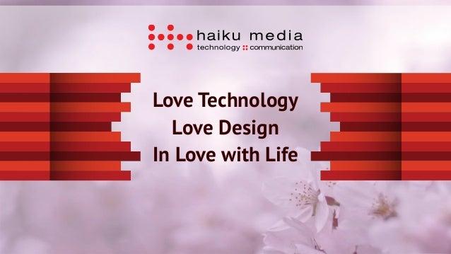 Haiku media agency presentation