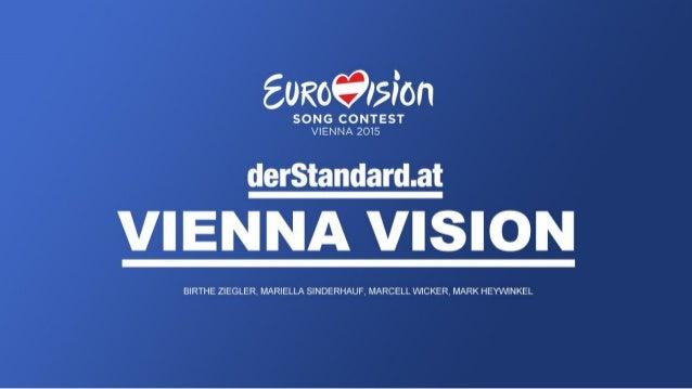 Fiktives Konzept für den ESC 2015 in Wien