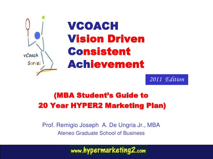 VCOACH Guide to 20 year Hyper 2 Marketing Plans