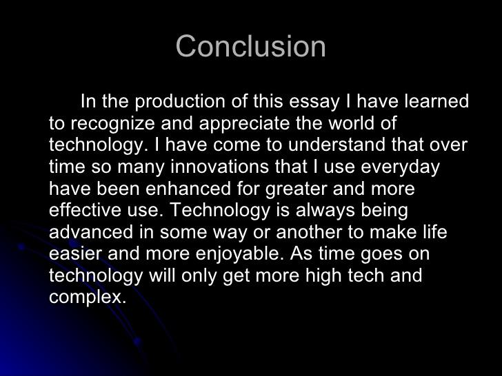 FREE Modern technology makes better life Essay