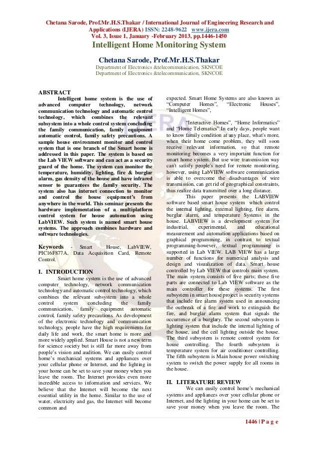 Chetana Sarode, Prof.Mr.H.S.Thakar / International Journal of Engineering Research and                   Applications (IJE...