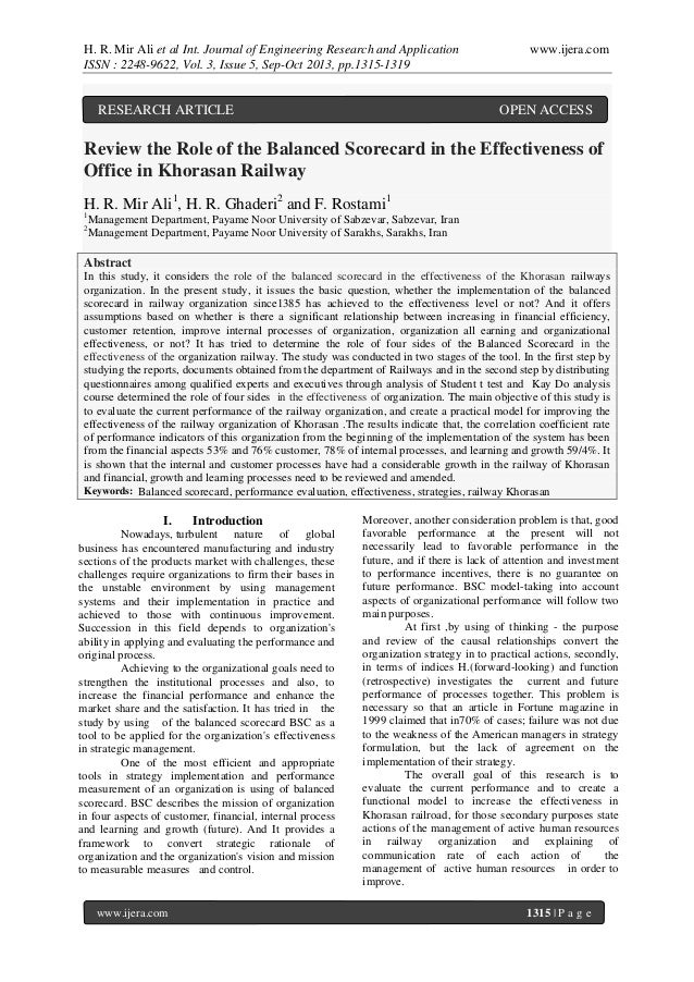 H. R. Mir Ali et al Int. Journal of Engineering Research and Application ISSN : 2248-9622, Vol. 3, Issue 5, Sep-Oct 2013, ...