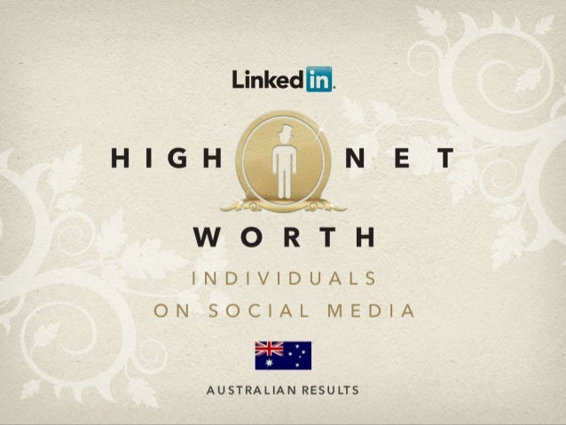 Engaging with Australia's High Net Worth on Social Media