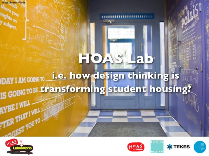 Image: Brenda Vértiz                              HOAS Lab                         i.e. how design thinking is            ...