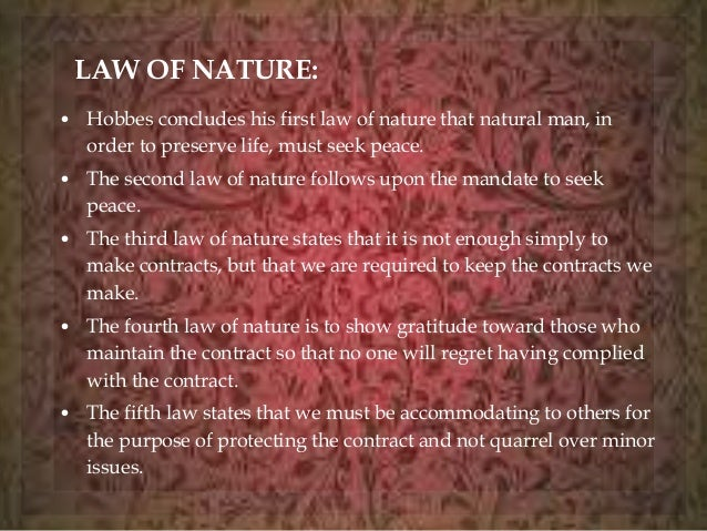 hobbes laws of nature the logical place hobbes laws of nature