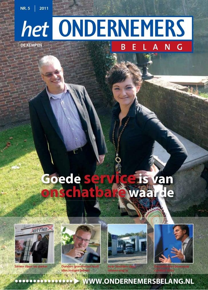 Magazine Het Ondernemerbelang De Kempen 05 2011
