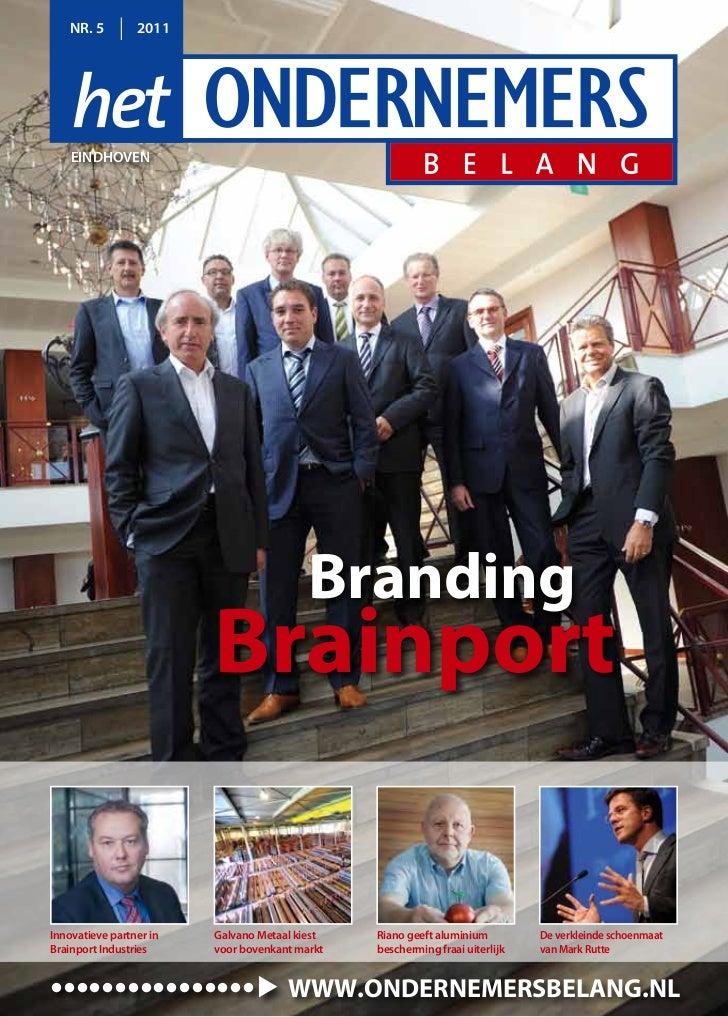 NR. 5        2011    eiNdhoveN                                          Branding                         Brainportinnovati...