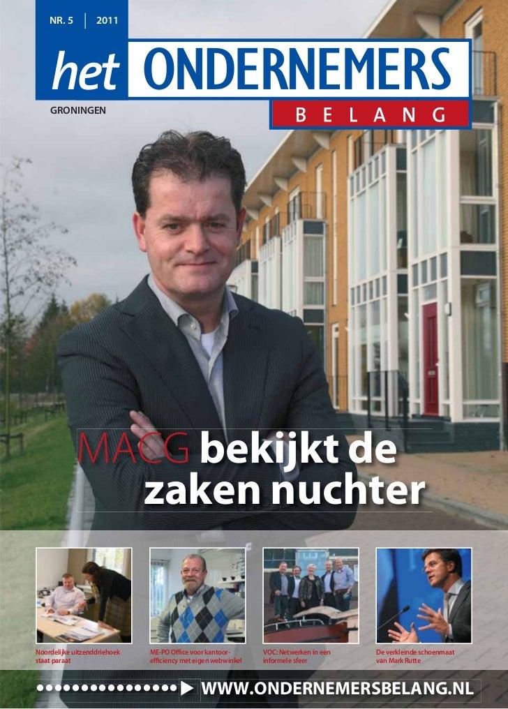 Magazine het Ondernemersbelang Groningen 05 2011