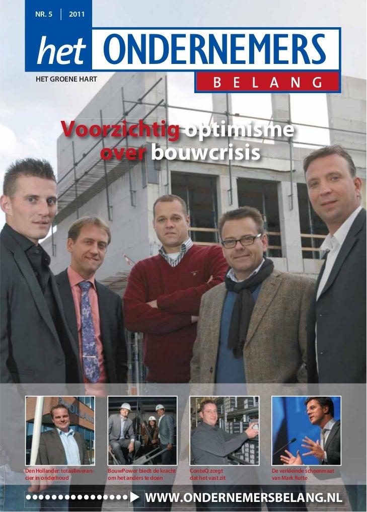 Het Ondernemersbelang Het Groene Hart 05 2011