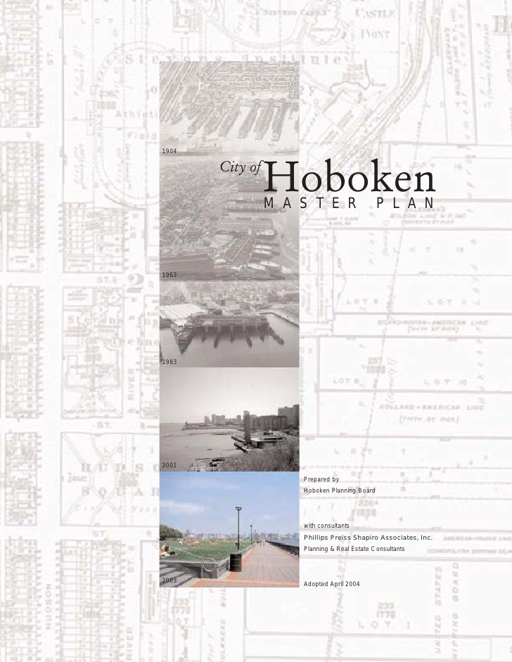 Hoboken Master Plan