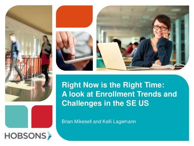 Hobsons enrollment webinar Dec 2013
