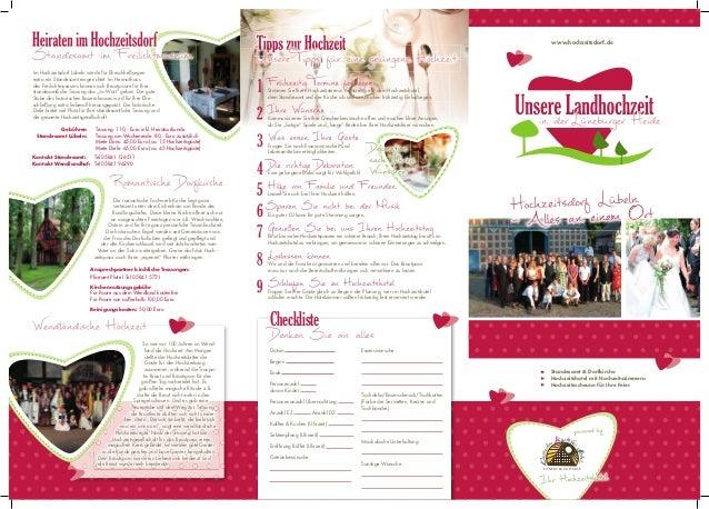 Hochzeit in der Lüneburger-Heide