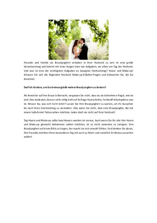 Freunde und Familie als Brautjungfern einladen in Ihrer Hochzeit zu sein ist eine große Verantwortung und kommt mit einer ...